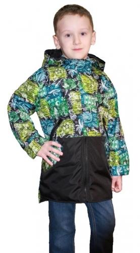 Куртка для мальчиков на флисе арт. 4703 (104-158)