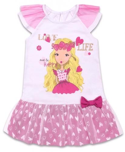 [490418]Платье для девочки ДПК067001н