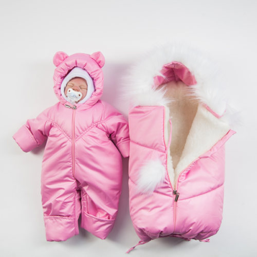 Комплект Бэби Бум нью Нежно-розовый