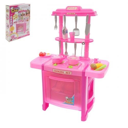 Игровой модуль «Кухня шеф-повара» с аксессуарами, световые и звуковые эффекты, высота 70 см