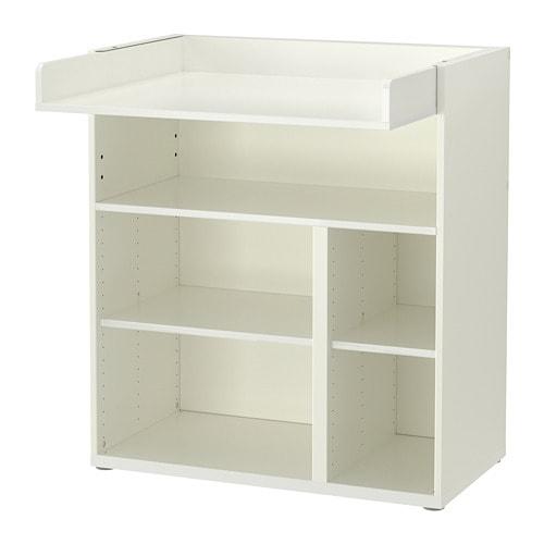 СТУВА, Пеленальный/письменный стол, белый