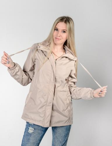 890 1190Куртка-ветровка женская,без капюшона,Aрт. KG-003. цвет-бежевый
