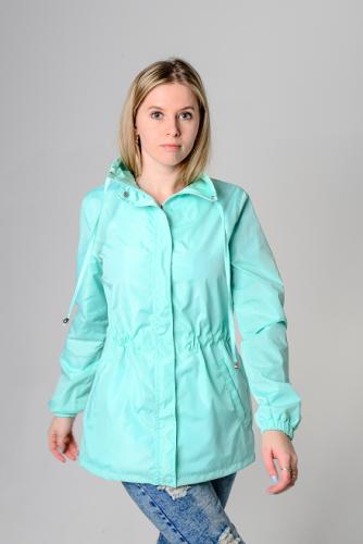 890 1190Куртка-ветровка женская,без капюшона,Aрт. KG-003. цвет-мятный