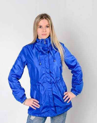 Куртка-ветровка женская,без капюшона,Aрт. KG-003. цвет-васильковый