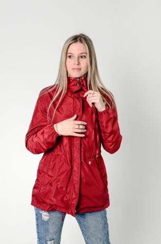 Куртка-ветровка женская,без капюшона,Aрт. KG-003. цвет-бордо
