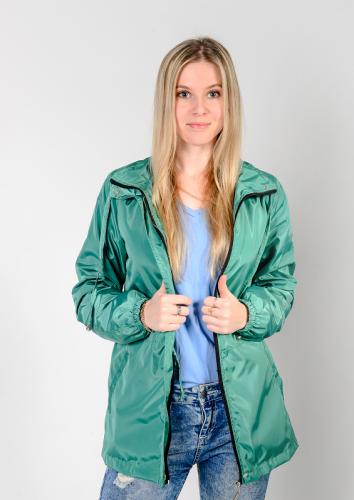 Куртка-ветровка женская,без капюшона,Aрт. KG-003. цвет-изумрудный
