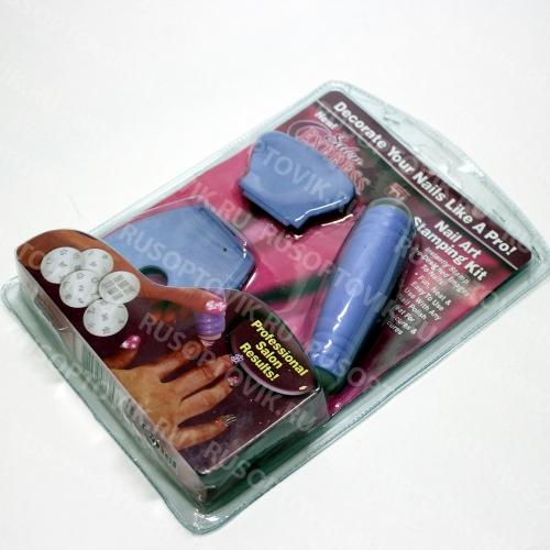Набор для нейл арта Salon EXPRESS Nail Art Stamping Kit оптом