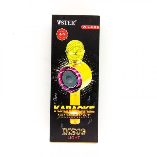 Беспроводной караоке-микрофон WS-668 оптом
