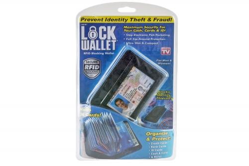 Кардхолдер Lock Wallet оптом