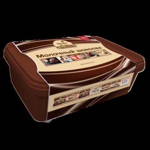 Молочный шоколад литой 1227