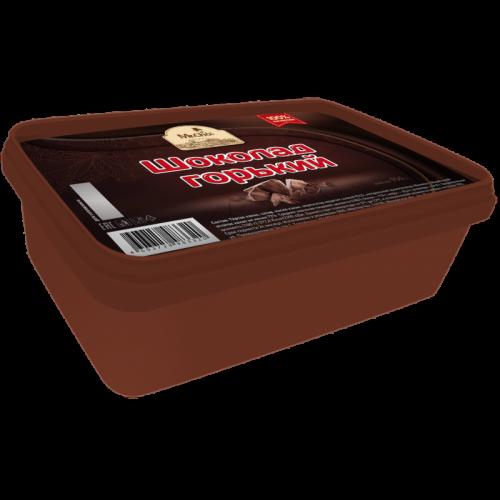Шоколад горький литой