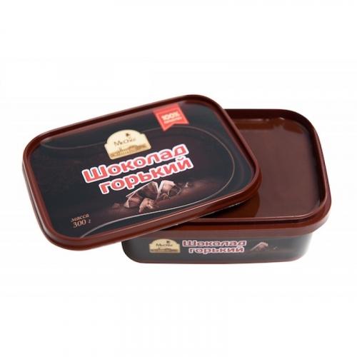 Горький шоколад литой1222