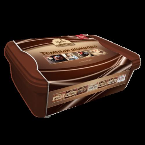Темный шоколад литой 1230