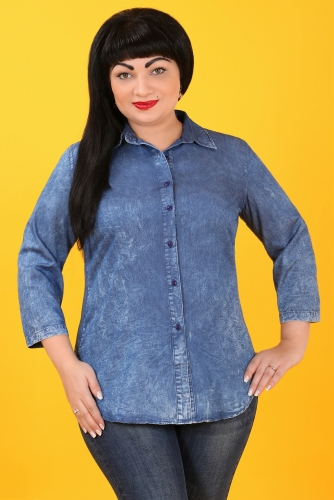 СИМАН 5102 Рубашка джинсовая