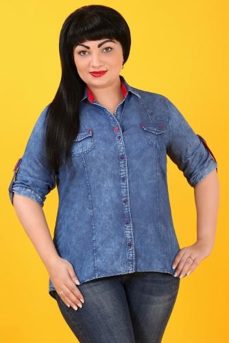 СИМАН 5002 Рубашка джинсовая