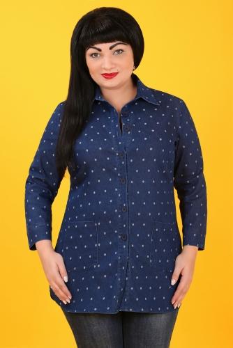 СИМАН 5101 Рубашка джинсовая