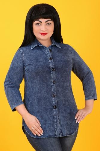 СИМАН 5111 Рубашка джинсовая