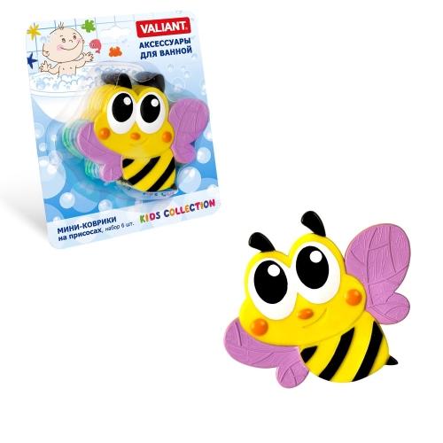 Мини-коврик Пчелка-розовая
