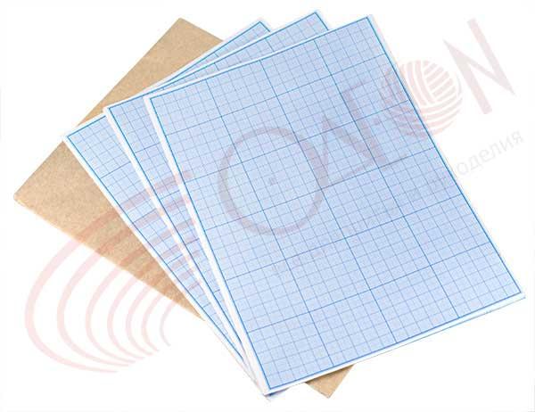 картинка бумага для выкройки фигуры пропорциональны, это