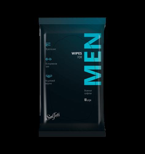 Salfeti for Men №10 влажные салфетки универсальные NEW