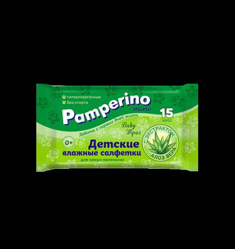 Pamperino  MINI №15 детские влажные салфетки