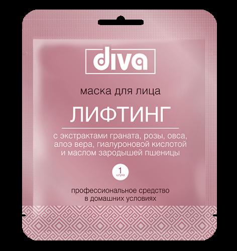 DIVA  маска для лица на тканевой основе Лифтинг NEW