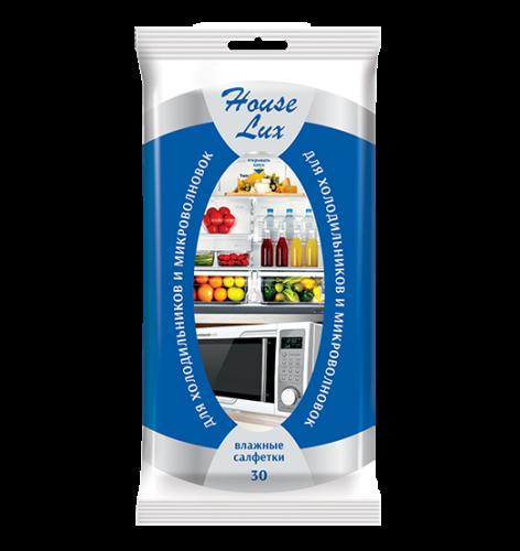House Lux №30  влажные салфетки для холодильников и микроволновых печей
