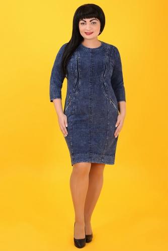 СИМАН Т-352 Платье джинсовое