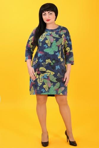 СИМАН Т-365 Платье джинсовое