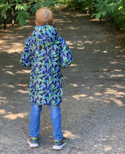 Куртка для мальчиков демисезонная арт. 1505 (110-158) МЕМБРАНА