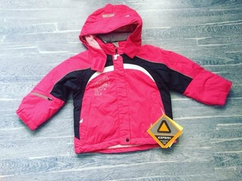 Зимняя мембранная куртка Icepeak цвет pink
