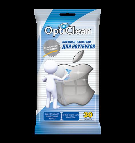 Opti Clean №30 влажные салфетки для ноутбуков