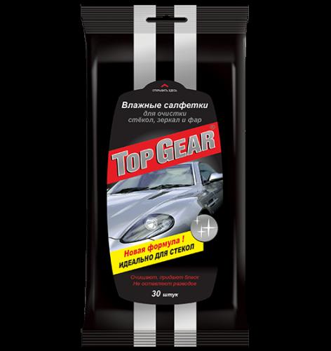 Top Gear №30 влажные салфетки для стекол