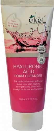 Очищающая пенка с гиалуроновой кислотой  Ekel Foam Cleanser Hyaluronic Acid  100мл