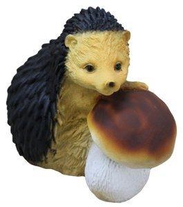 Фигура садовая «Ёжик с грибом»