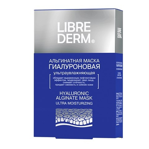 LIBREDERM Гиалуроновая ультраувлажняющая альгинатная маска № 5 по 30 г