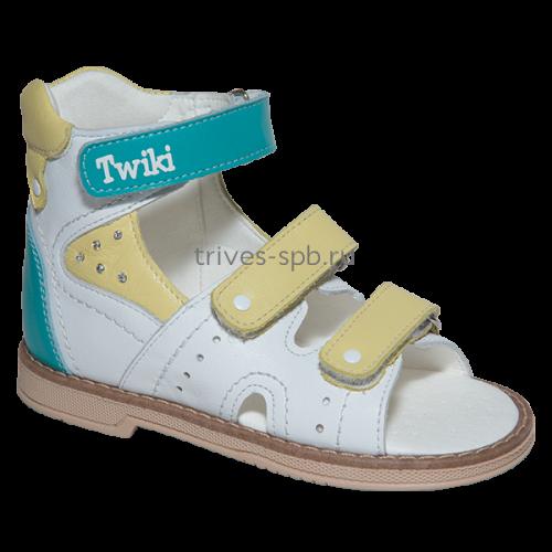 TW-173-2 сандалеты ортопедические с открытым носком, с высоким задником