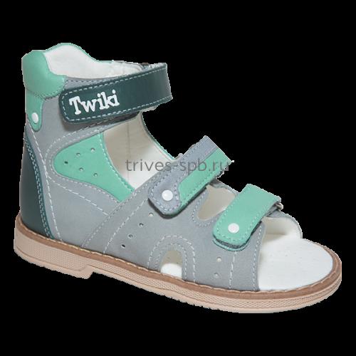 TW-173-1 сандалеты ортопедические с открытым носком, с высоким задником