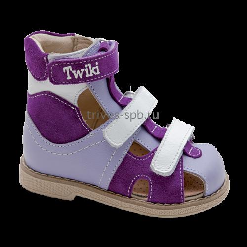 TW-271-1 сандалеты ортопедические с закрытым носком, съемной стелькой и высоким задником