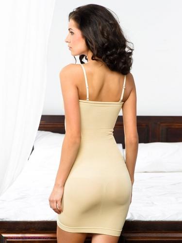 Нижнее платье с корректирующим эффектом для женщин UINQ021203 - телесный
