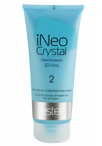 INeo-Crystal 3D-гель для сильно поврежденных волос 200 мл