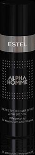 ALPHA HOMME Энергетический спрей для волос ESTEL ALPHA HOMME, 100 мл