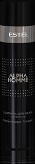 ALPHA HOMME Шампунь для волос от перхоти ESTEL ALPHA HOMME, 250 мл