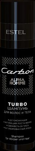 OTIUM ALPHA HOMME TURBO-шампунь для волос и тела, 250 мл