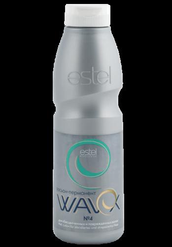 WAVEX Лосьон-перманент 4 WAVEX для обесцвеченных и поврежденных волос, 500 мл