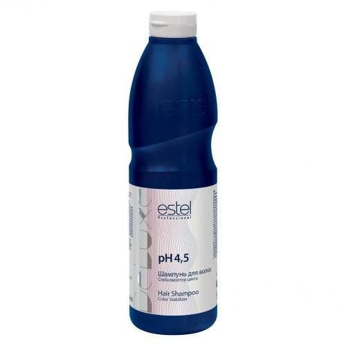 De Luxe Шампунь для волос стабилизатор цвета De Luxe, 1000 мл
