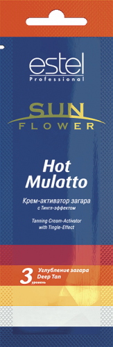 SUN Flower Крем-активатор загара SUN Flower Hot Mulatto, 15 мл