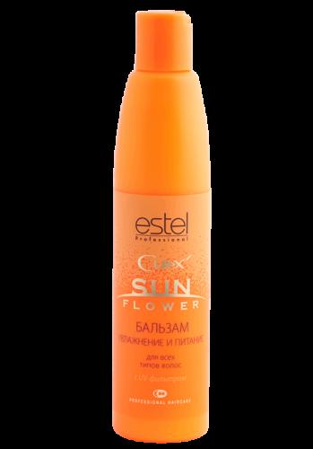 CUREX Бальзам CUREX для волос - увлажнение и питание с UV-фильтром, 250 мл