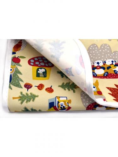 Детская непромокаемая многоразовая пеленка, МИКРОФИБРА