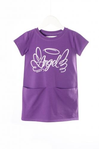 Платье 931А1 фиолетовый
